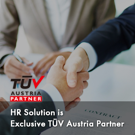 HR Solution is Exclusive TUV Austria Partner